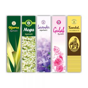 PRS Assorted Incense Stick 20gms (Pack of 10)