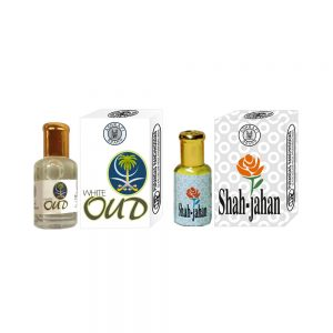 PRS White-Oud & Shah-Jahan Attar (6ml Each)