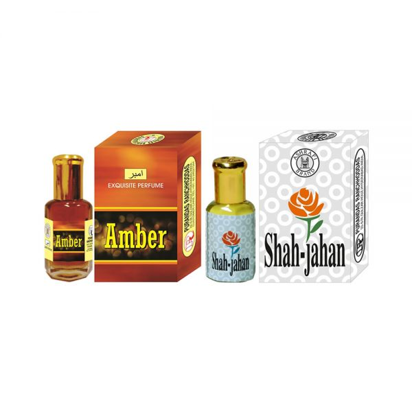 PRS Amber & Shah-Jahan Attar <br />(6ml Each) 1