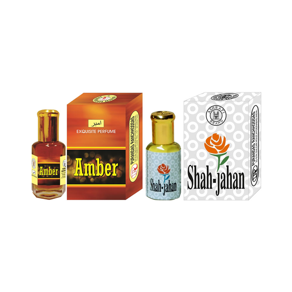 PRS Amber & Shah-Jahan Attar <br />(6ml Each)