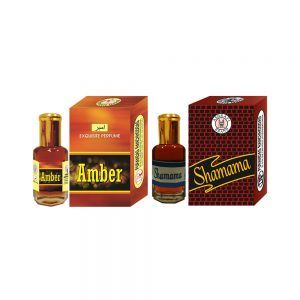 PRS Amber & Shamama Attar (6ml Each)
