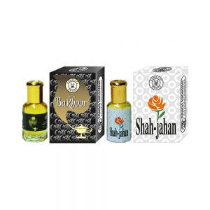 PRS Bakhoor & Shah-Jahan Attar (6ml Each)