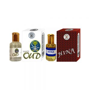PRS White-Oud & Hina Attar (6ml Each)