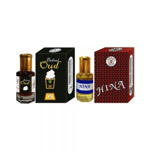 PRS Dehnal-Oud & Hina Attar (6ml Each)