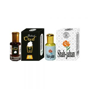 PRS Dehnal-Oud & Shah-Jahan Attar (6ml Each)